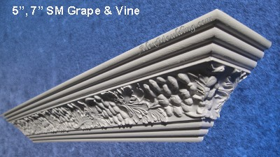 Grape Vine crown moulding