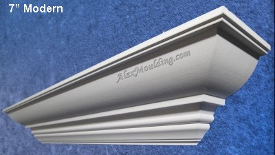 7 Modern Profile crown moulding